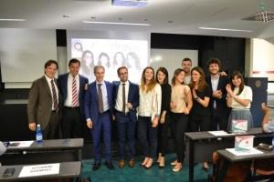 team vincitore  e aziende in concorso