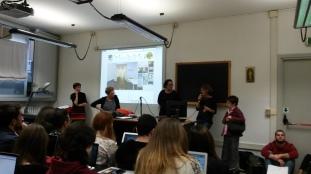 Valentina Picariello e Sabrina Sinatti parlano agli studenti di CIMO
