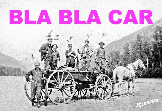 Klondike bla bla car