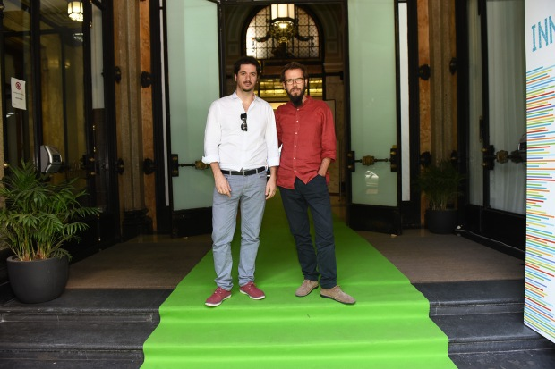 Mainetti e Segre sull'Edison green carpet