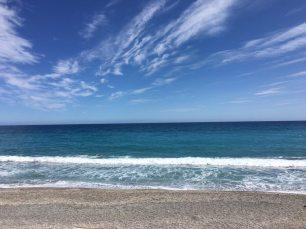 Liguria- Pietra Ligure (Savona) una delle più belle spiagge in Liguria
