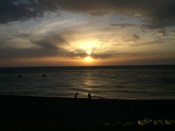 Sicilia - Gioiosa Marea (Messina) uno splendido tramonto sul mare