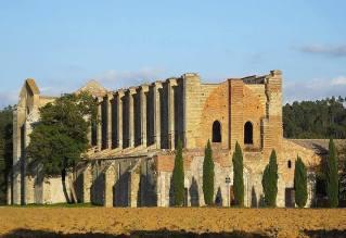 Toscana - Abazia di San Galgano (Chiusidino) Siena