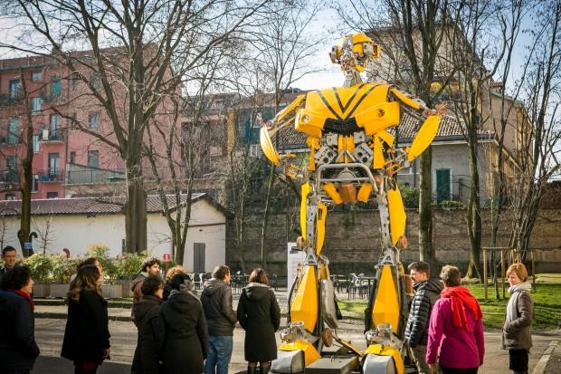 Museo Della Scienza E Della Tecnica Milano.Transformers Art La Mostra Dei Giganteschi Robot Al Museo Della